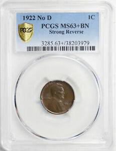Click now to see the BUY IT NOW Price! 1922 LINCOLN BRONZE 1C PCGS MS 63  BN