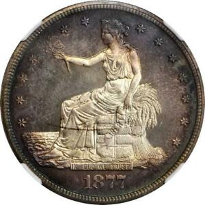 Click now to see the BUY IT NOW Price! ATC0624 1877 TRADE DOLLAR. PROOF 67 CAMEO  NGC