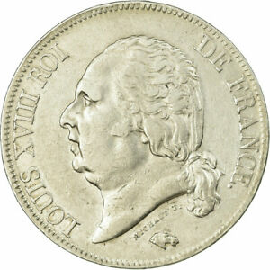 [735051] COIN FRANCE LOUIS XVIII LOUIS XVIII 5 FRANCS 1816 PARIS