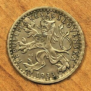 Click now to see the BUY IT NOW Price! 1933 CZECHOSLOVAKIA 25 HALERU COIN KM 16 HIGH GRADE UNCIRCULATED