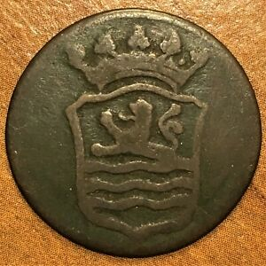 Click now to see the BUY IT NOW Price! 1793 NETHERLANDS EAST INDIES DUIT COPPER COIN KM 70