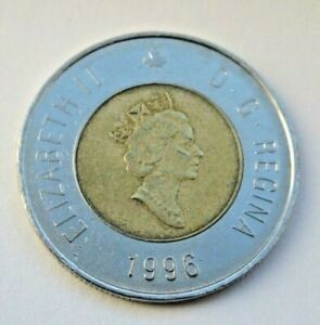CANADA 1996 TWO DOLLAR COIN