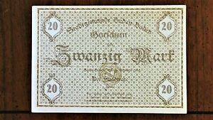Click now to see the BUY IT NOW Price! 1918 CITY OF BADEN  GERMANY  20 MARK EMERGENCY WORLD WAR ONE NOTE  NOTGELD