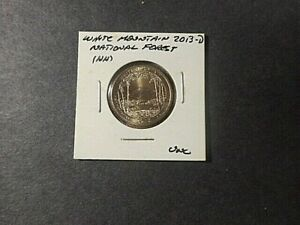 2013  D AMERICA THE BEAUTIFUL QUARTER WHITE MOUNTAIN N.F.  UNC CONDITION.