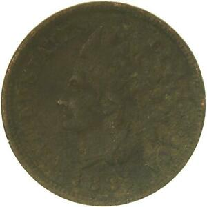 1885 INDIAN HEAD CENT FULL LIBERTY OFF COLOR SEE PHOTOS C028