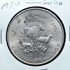 Click now to see the BUY IT NOW Price! 1970 SOMALIA SOMALI 5 SHILLINGS