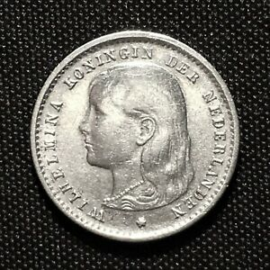 Click now to see the BUY IT NOW Price! 1895 NETHERLANDS 10 CENTS SILVER KM 116 VF