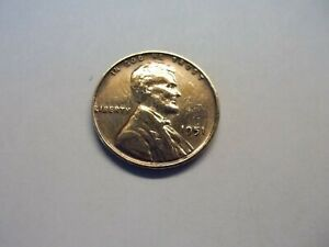 1951 LINCOLN WHEAT PENNY   CIRCULATED BUT IN