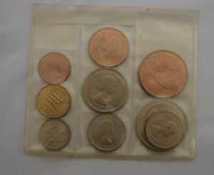 UNITED KINGDOM   FARTHING UP TO AND INCLUDING CROWN 1953 'CORONATION OF ELIZABET