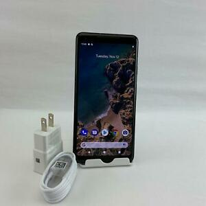GOOGLE PIXEL 2 XL G011C 64GB JUST BLACK  READ  WILL WORK WITH GSM CARRIERS