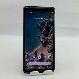 GOOGLE PIXEL 2 XL G011C 64GB JUST BLACK  COMPATIBLE WITH GSM CARRIERS  READ