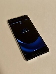 GOOGLE PIXEL 2 64GB CLEARLY WHITE VERIZON UNLOCKED SMARTPHONE  USED    EXTRAS