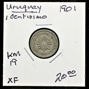 Click now to see the BUY IT NOW Price! URUGUAY 1901 1 CENTISIMO