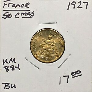 Click now to see the BUY IT NOW Price! FRANCE 1927 50 CENT.