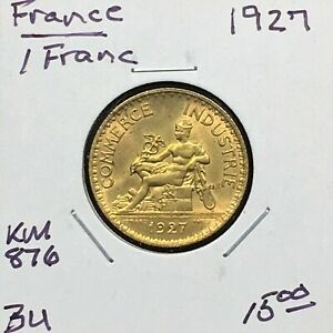 Click now to see the BUY IT NOW Price! FRANCE 1927 1 FRANC