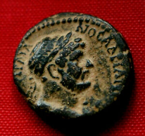 Click now to see the BUY IT NOW Price! GENUINE ROMAN COIN 119AD HADRIAN WREATH CHALKIS QINNASRIN SYRIA