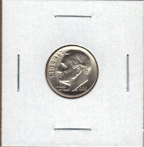 1965 SMS SPECIAL MINT SET UNCIRCULATED ROOSEVELT DIME