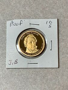 2010 S PROOF JAMES BUCHANAN PRESIDENTIAL DOLLAR