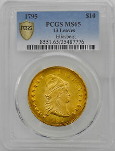 Click now to see the BUY IT NOW Price! 1795 DRAPED BUST $10 PCGS MS 65