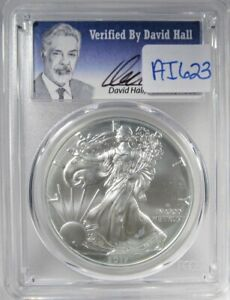 Click now to see the BUY IT NOW Price! 2017 W SILVER EAGLE DOLLAR PCGS SP70 1ST STRIKE DAVID HALL COIN AI623