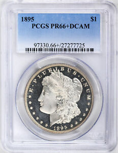 Click now to see the BUY IT NOW Price! 1895 MORGAN S$1 PCGS PR 66  DCAM