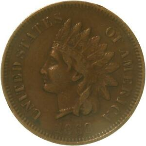 1868 INDIAN HEAD CENT PENNY FINE   SEE PHOTOS C351
