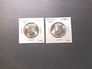 2018 KENNEDY HALF DOLLARS  P&D IN UNCIRCULATED CONDITION