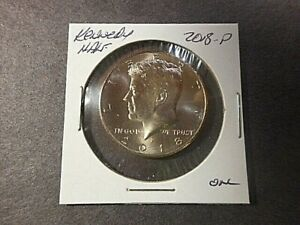 2018 P KENNEDY HALF DOLLAR IN UNCIRCULATED CONDITION