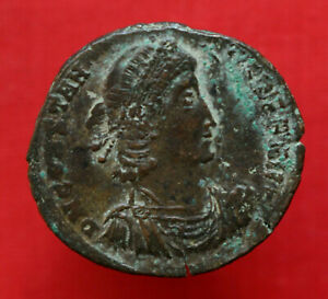 Click now to see the BUY IT NOW Price! GENUINE ROMAN COIN CONSTANTIUS II CENTENIONALIS CONSTANTINOPLE