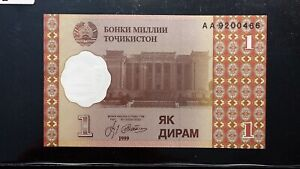 Click now to see the BUY IT NOW Price! 2000 TAJIKISTAN 1 DIRHAM BANKNOTE   PICK 10   UNCIRCULATED