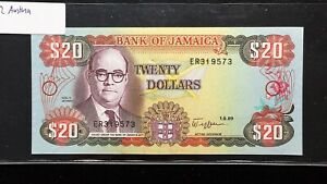 Click now to see the BUY IT NOW Price! 1989 JAMAICA $20 DOLLARS BANKNOTE   PICK 72   UNCIRCULATED