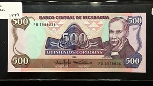 Click now to see the BUY IT NOW Price! 1985 NICARAGUA 500 CORDOBAS BANKNOTE   PICK 155   UNCIRCULATED