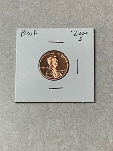 2000 S LINCOLN CENT PROOF