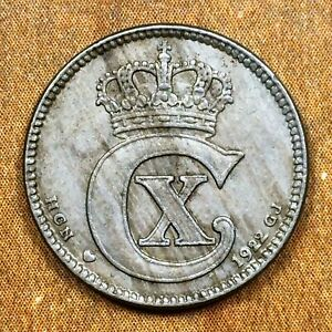 Click now to see the BUY IT NOW Price! 1922 H  HCN; GJ DENMARK 25 ORE COIN KM 815.2A CHRISTIAN X KEY DATE