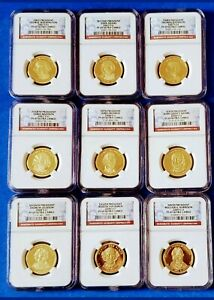 Click now to see the BUY IT NOW Price! COMPLETE 39 SET PRESIDENTIAL GOLD COINS NGC PF69 ULTRA CAMEO