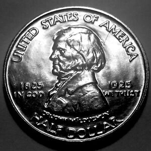 1925 FORT VANCOUVER COMMEMORATIVE HALF DOLLAR   SUPERB GEM BU 2