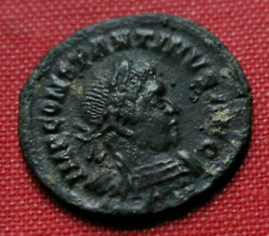Click now to see the BUY IT NOW Price! GENUINE ROMAN COIN 315AD LONDON CONSTANTINE I FOLLIS SOL