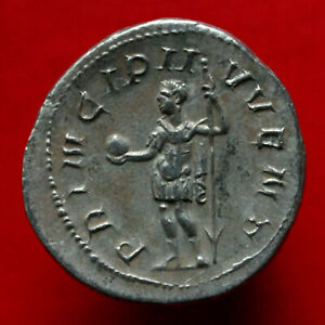 Click now to see the BUY IT NOW Price! GENUINE VF ROMAN COIN 246AD PHILIP II SILVER ANTONINIANUS PRINCIPI IVVENT ROME