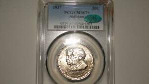 Click now to see the BUY IT NOW Price! 1937 PCGS MS67  CAC ANTIETAM COMMEMORATIVE SUPERB BLAZING LUSTER   UNDERGRADED?