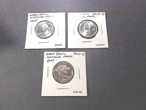 3 2013  AMERICA THE BEAUTIFUL QUARTERS GREAT BASIN N.P. UNC. CONDITION