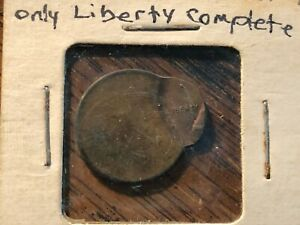 LINCOLN  PENNY  UNCIRCULATED 90  OFF CENTER COIN         1B &1C