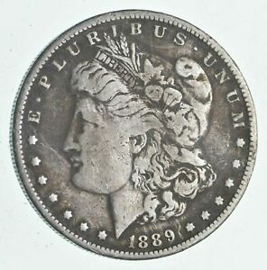1889 O MORGAN DOLLAR 90 PERCENT SILVER DOLLAR