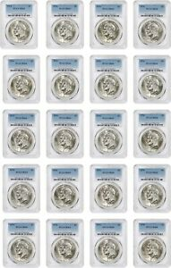 LOT OF 1974 $1 PCGS MS64  20 COINS    EISENHOWER DOLLAR