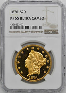 Click now to see the BUY IT NOW Price! 1876 LIBERTY HEAD $20 NGC PR 65 DCAM