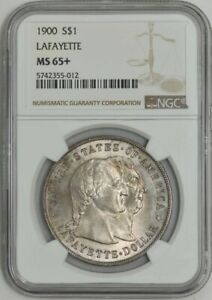 Click now to see the BUY IT NOW Price! 1900 LAFAYETTE DOLLAR $ MS65  NGC 942404 1