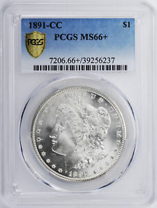 Click now to see the BUY IT NOW Price! 1891 CC MORGAN S$1 PCGS MS 66