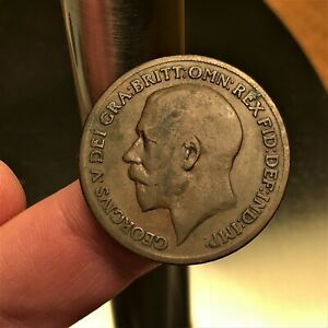 Click now to see the BUY IT NOW Price! 1919 KN GREAT BRITAIN PENNY KING GEORGE V KM 810 EXTRA NICE