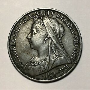 Click now to see the BUY IT NOW Price! 1899 GREAT BRITAIN PENNY QUEEN VICTORIA KM 790 XF  2659