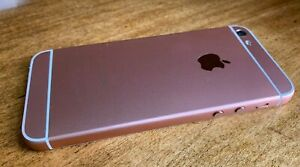 APPLE IPHONE 5   16GB   ROSE GOLD  UNLOCKED  A1428 CUSTOMIZED