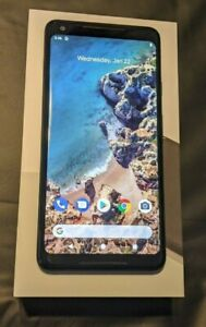 GOOGLE PIXEL 2 XL   64GB   JUST BLACK  VERIZON     EXCELLENT AND COMPLETE IN BOX